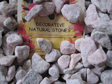 Decorative Natural Stones from the Dollar Store