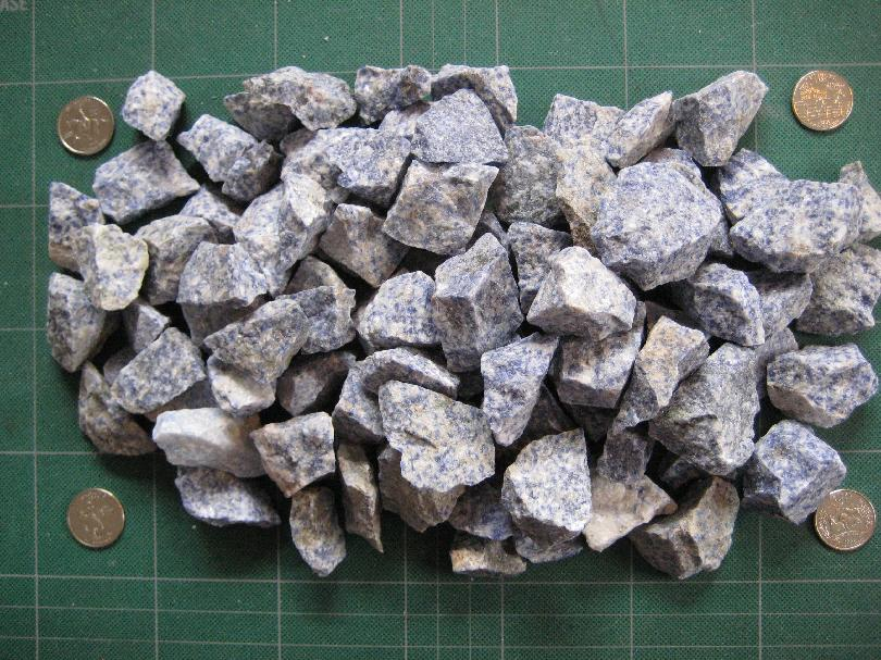 5 pounds of Spotted Sodalite