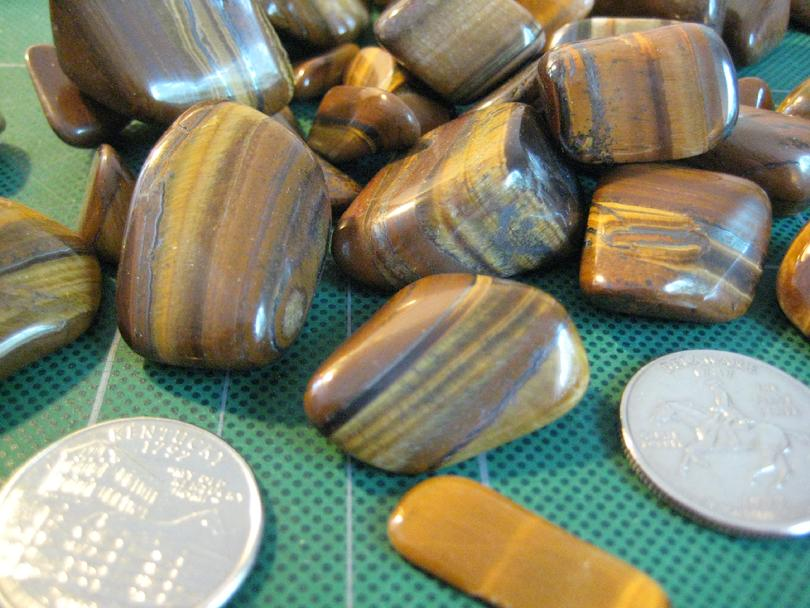 Tiger Eye Close Up