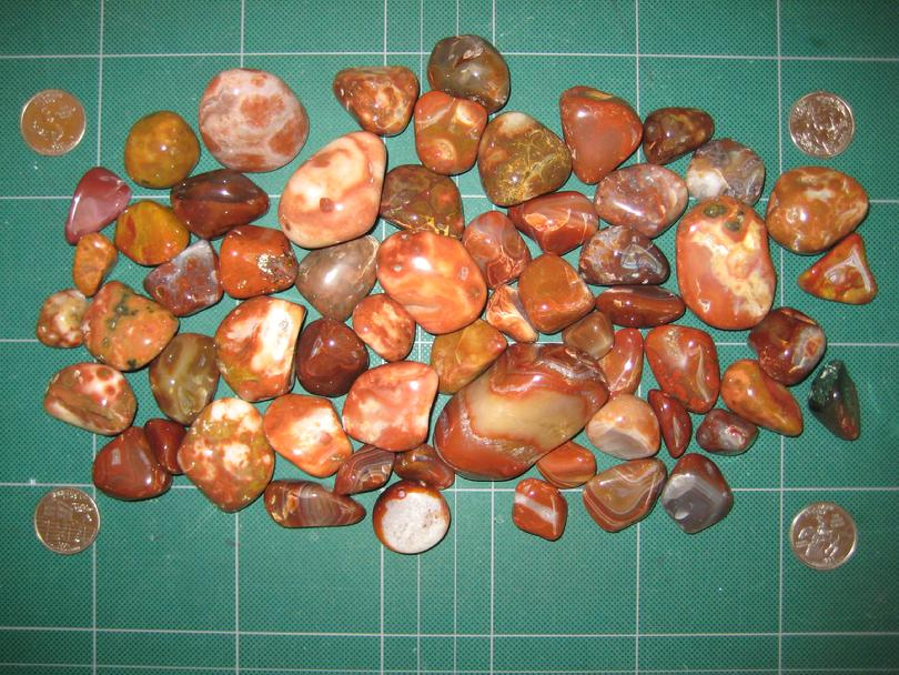 Lake Superior Agates Finished