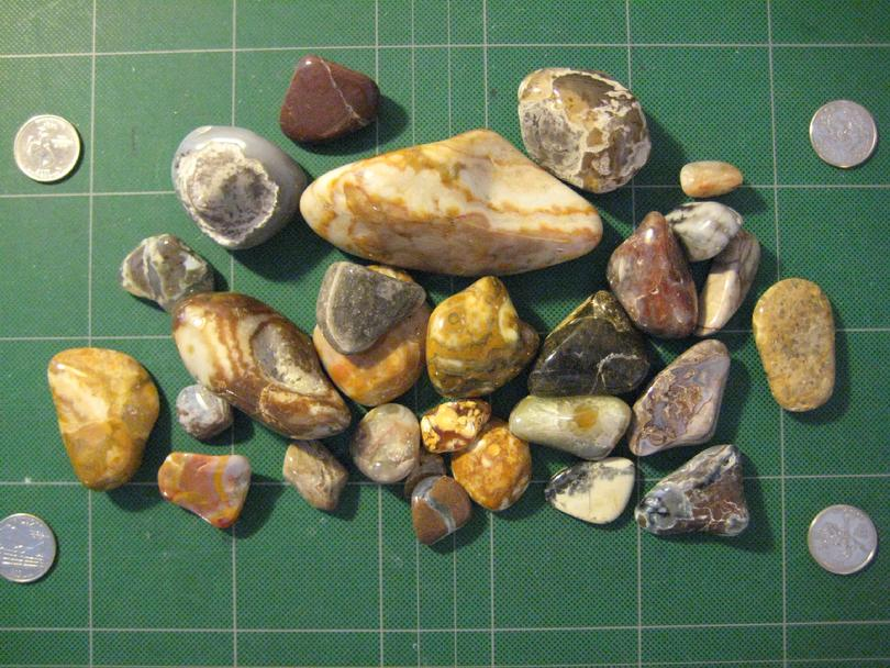 Thunder Eggs and Prairie Agate
