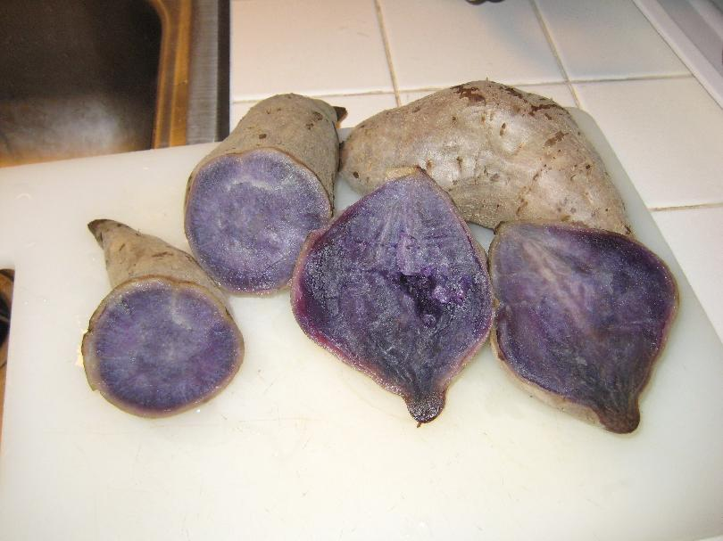 Really Purple Yams