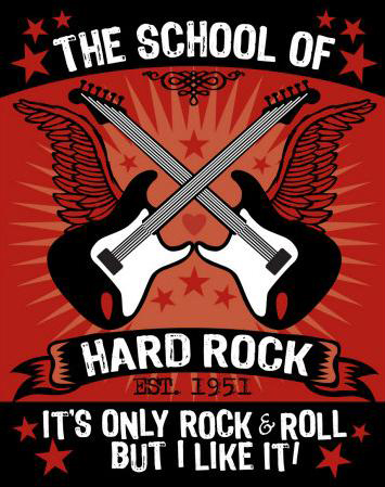 influence of hard rock music media essay I like pop and rock, my dad just likes rock, my mom just likes pop, my friend likes christian rap, and my other friend like gospel each type of music does create a different response on different.